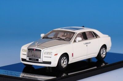 1 43 Camater Resin Model Rolls Royce RR 200EX V12 White Silver 2009