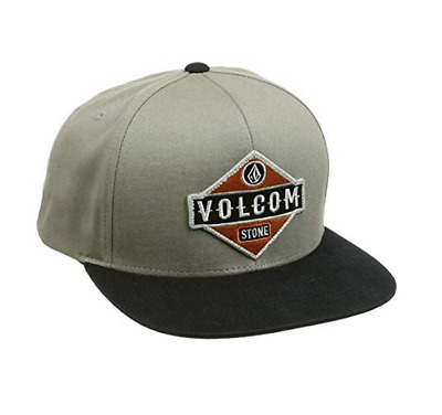 san francisco 60b7f 01895 Volcom Mens Cresticle Flex Fit Snapback Hat Olive One Size New