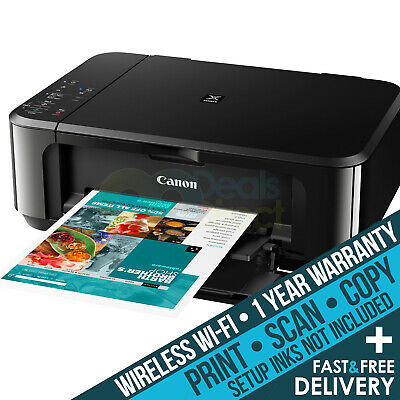 Canon MG3650 S All-in-one Colour A4 Wireless Inkjet Printer Copier Scanner