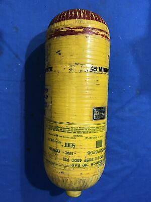 Scott 4500psi 45 min Carbon SCBA Air Pak Bottle Cylinder Breathing Tank Mfr 1994