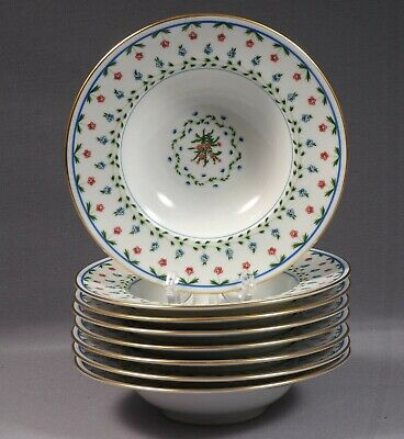 Ceralene A Raynaud Limoges Lafayette Sevres Rimmed Soup Bowl Plate Empire France