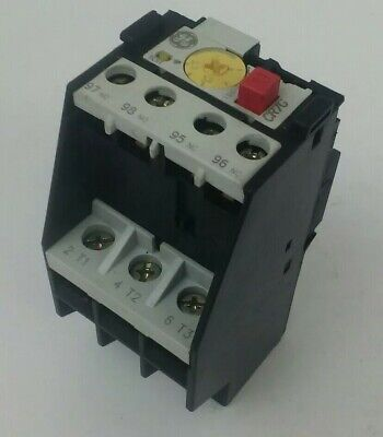 General Electric Cr7G1Tj Overload Relay 2.5-4.0 Amps 600Vac