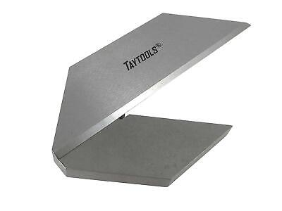 "Taytools 3"" Machinist Center Finder Square Tool Steel with Tapered Pinned Joint"