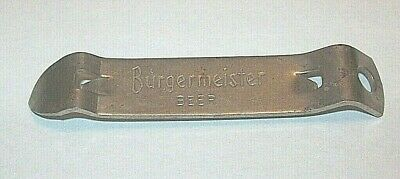 "1950s Burgermeister /""A Truly Fine Pale Beer/"" Wire Bottle Opener Box 6"