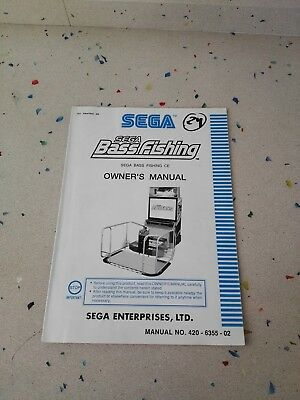 SEGA Bass Fishing Original Owner´s Manual