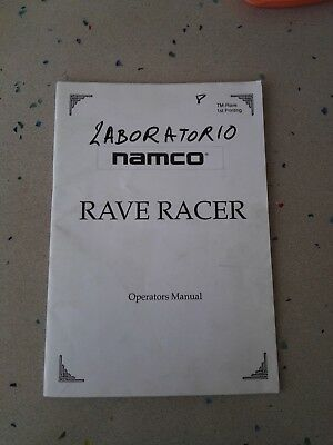 NAMCO Rave Racer Original Operators Manual