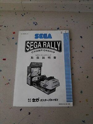 SEGA Rally Original Manual