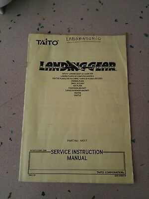 TAITO Landing Gear Original Service Manual