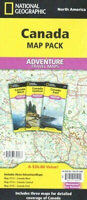 National Geographic Adventure Map: Canada [Map Pack Bundle] by National...