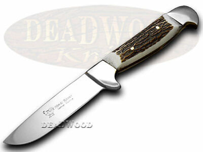 HEN & ROOSTER Deer Stag Skinner Hunting Full Tang Knife 5018 Knives