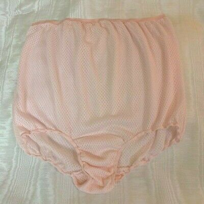 639bf7480 VINTAGE PANTIES 1960S Size 8 Nylon Gusset Silky Pin Up Granny Sissy ...