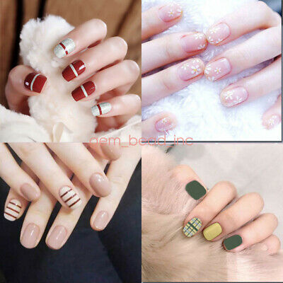 Lady Girl's Nail Polish Art Decals Decoration Wraps Stickers Adhesive  Foils