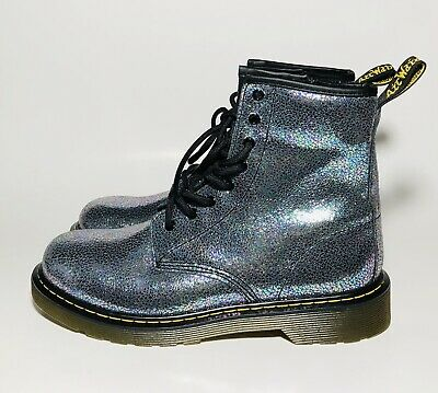 blue doc martens womens