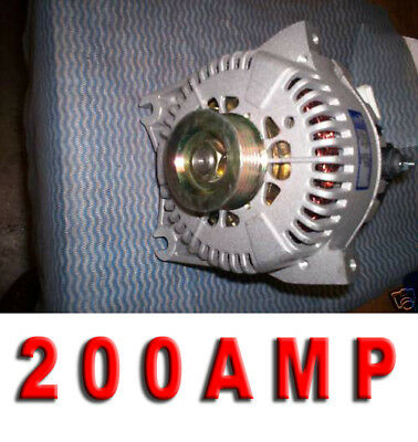 200 HIGH AMP ALTERNATOR FORD CROWN VICTORIA Mercury Grand Marquis 1999 2001 2002