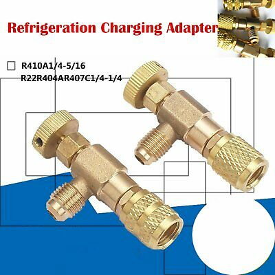 Refrigeration Charging Adapter Liquid Addition Accessories Réfrigération Outil