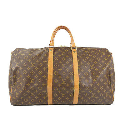 f3ea78f57 LOUIS VUITTON LV Monogram Pacific Outdoor Keepall Bandouliere 55 Kim ...