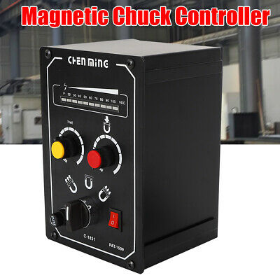 Electro Magnetic Chuck Controller Long Lifespan Demagnetizing 9-15S LED 5 Amps