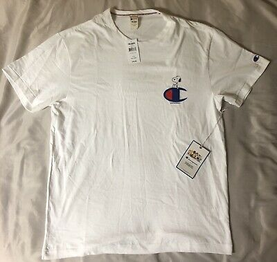 c05db0b3 Todd Snyder + Champion X Peanuts Snoopy C Men's Tee Shirt Made in Canada  NEW L