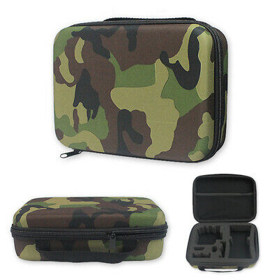 Travel Carry Hard Case Storage Bag Box Camo For GoPro Hero 7 6 4 Black Xiaoyi UK