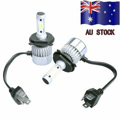 2X H4 9003 980W LED Car Headlight Conversion Bulb Beam Kit 6500K 140000LM Light