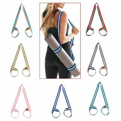Yoga Mat Sling Carry Strap Adjustable Shoulder Belt Fitness Sport Gym