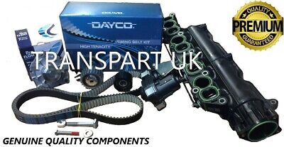 Vauxhall Insignia 2.0 Diesel Cdti Inlet Manifold Timing Belt Kit And Water Pump