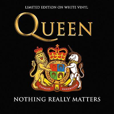 Queen - NOTHING REALLY MATTERS: LIMITED EDITION WHITE VINYL nuovo