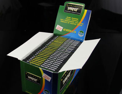 8 Packs HORNET 78*36mm CELLULOSE VEGETAL TRANSPARENT ROLLING PAPERS-50 Leaves