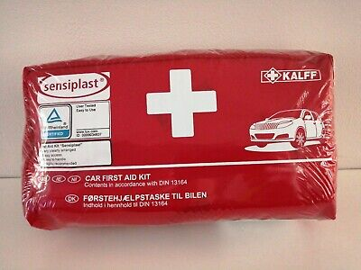Brand New in plastic wrap Car, Lorry, Camping, First Aid Kit (44 Piece) exp 2024