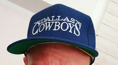 Casquette vintage DALLAS COWBOYS PRO MODEL ANNCO 100% WOOL