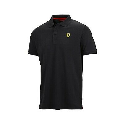 POLOSHIRT enfant Ferrari Cotton Pique Polo F1 Formula One 1 noir FR