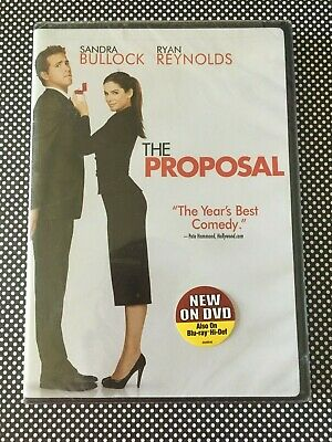 THE PROPOSAL DVD Sandra Bullock Ryan Reynolds Widescreen Release Sealed NEW!