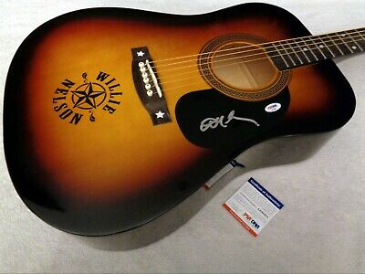WILLIE NELSON Autographed Signed Guitar w/ PSA/DNA COA - NEW, NO RESERVE!