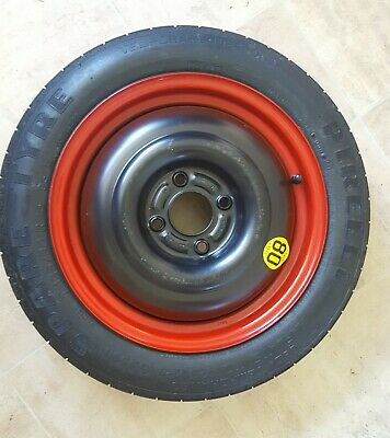 Pirelli Spare tyre from a  Ford T125/80 R15 emergency tire
