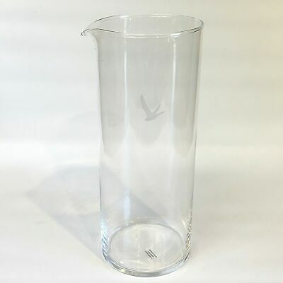 Grey Goose Martini Pitcher Glass Vodka Cocktail Clear Etched