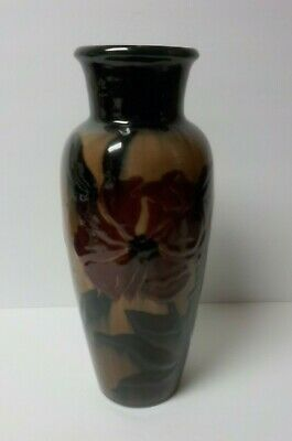 "Rookwood Art Pottery KAY LEY Squeeze Bag 13"" Vase, c. 1946"