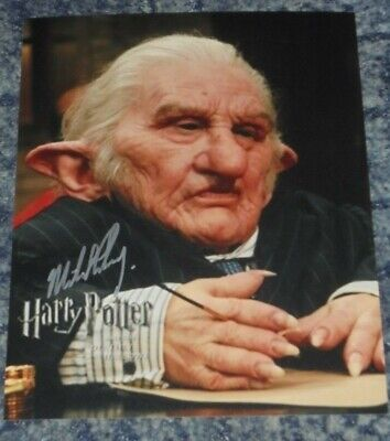 Michael Henbury Photo Signed In Person Harry Potter E865 10 00 Picclick Uk Which actor played both a human and goblin role in the #harrypotter films? picclick uk