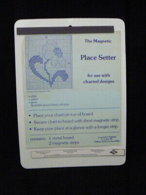 Cross Stitch Originals Magnetic Place Setter - 2 Magnetic Strips