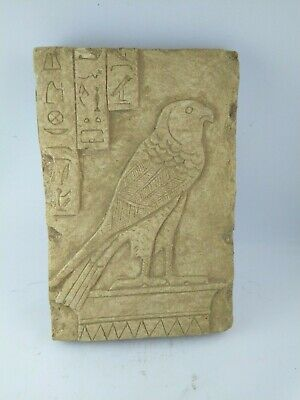 RARE ANCIENT EGYPTIAN ANTIQUE HORUS stela Stella 1340-1199 BC