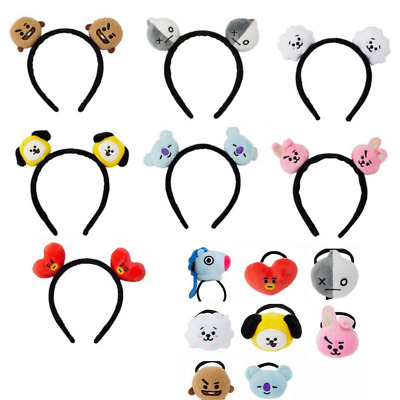 BT21 Kpop BTS Headbands Hair Band Tie Hairpin Bangtan Boys Chimmy Tuck Comb Gift