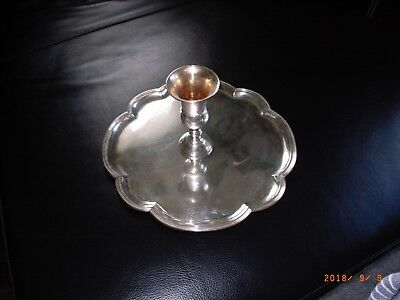 Dutch Silver Presentation / Serving Kiddish Tray, Bar & Bat Mitzvah, #kiddish