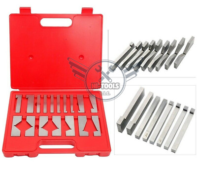 17 pcs precision angle block set 1/4 to 45 degree--new