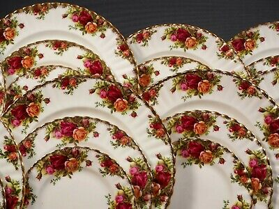 Royal Albert Old Country Roses Bone China Dinner Set for 8 England