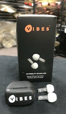 Vibes High Fidelity Professional EarPlugs with Case - Noise Cancelling!