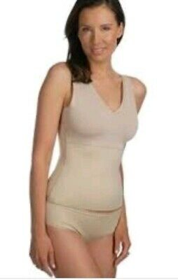 7f26af14acc6a Spanx Sara Blakely Hide and Sleek Shapewear V Neck Lace Cami Nude NWT Small