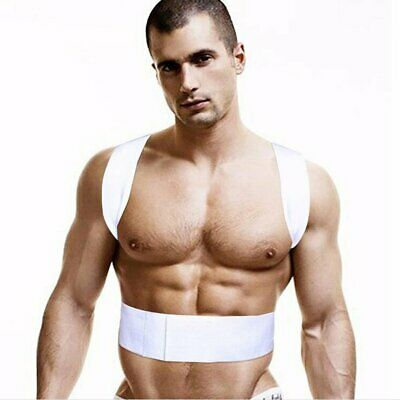 Men Women Orthopedic Magnetic Therapy Corset Back Posture Corrector Support BN