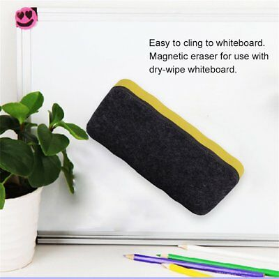 New Magnetic board Eraser Drywipe Marker Cleaner School Whiteboard BN