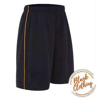 RAZOR | Kids Cotton Back Sports Shorts With Piping
