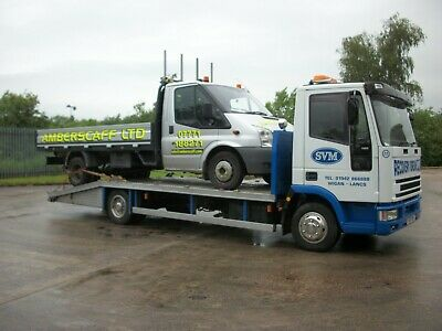 2001 Iveco Cargo Tector 7.5T Recovery Truck No Vat
