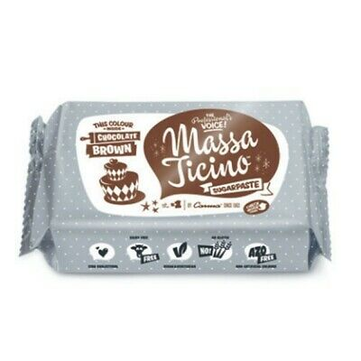 CARMA Barry callebaut Roll fondente – massa ticino Tropic, MARRONE/BROWN 250 G